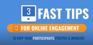 Tips for online stakeholder engagement