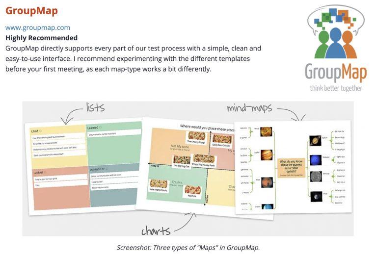 GroupMap Online Brainstorm Tool in Lucid Meetings
