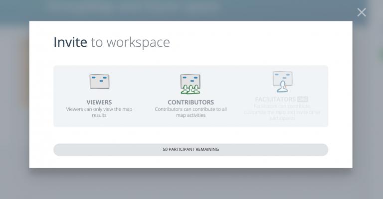 Invite to workspace