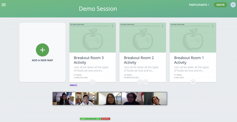 Breakout Rooms GroupMap and Zoon